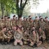 11.11.13, Torino: foto di gruppo alla Caserma Cavour del 32° Genio