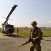 14.10.13, Venaria Reale: esercitazione con elicottero all'Aeroporto Militare M.Santi