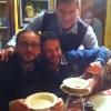 Ten.Salo, Ten.Lombardi e Magg.Rossi durante la cena