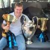 Con i tre Trofei