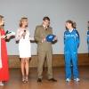 Con le atlete dell'Esercito Federica Dal Ri e Fatna Maraoui