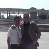 Con la guida John Zhang Fenghua dopo la visita all'Esercito di Terracotta