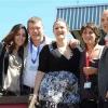 GLR con lo staff di TL: da sinistra Nathalie Goitom, Giorgia Colombo, Gea Somazzi e Marco Tajè