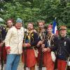 Con i soldati francesi
