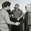 1963: Angelo Moratti consegna una sterlina d'oro a Herrera