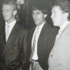 1989: Ramon Diaz tra Andreas Brehme e Lothar Matthaeus
