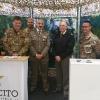 Visita del Gen.Cittadella all'Infopoint Esercito presso il Milano Marathon Village