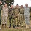 Con Ufficiali Nato di Francia, Spagna, Germania, Inghilterra, Stati Uniti e Olanda