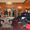 In conferenza-stampa simulata col Gen.Giorgio Battisti alla Caserma Zappalà di Lecce