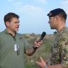 Intervista simulata al Maggiore britannico Wallis a Torre Veneri (LE)