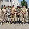Foto di gruppo con alcune Nazionalità di NRDC-Ita