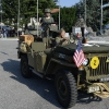 Parata di mezzi militari d'epoca
