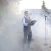 Musica, luci e fumo sul palco