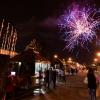 Chiusura con fuochi d'artificio