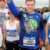 Alla partenza della New York Marathon 2017