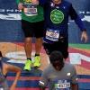 Il taglio del traguardo in Central Park della New York Marathon 2017