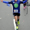 Durante la New York Marathon 2017