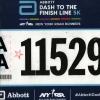 Dash to the Finish Line 5km 4.11.2017, il pettorale