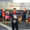 Alla partenza davanti all'ONU della Dash to the Finish Line 5km