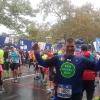 Durante la New York Marathon