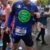 All'arrivo in Central Park con la medaglia della New York Marathon 2017