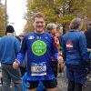 Alla partenza a Staten Island della New York Marathon 2017
