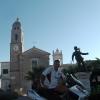 Taviano, Chiesa Beata Vergine Maria Addolorata e Monumento al carabiniere Martino Manzo