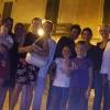 A Racale, foto di gruppo in notturna
