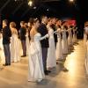 Le coppie durante il ballo
