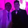 Con Dario Ballantini alias Valentino