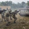 Ad Artegna, Esercitazione MOUT, fase Combattimento Centri Abitati