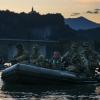 A Lago Cavazzo. Esercitazione Addestramento Anfibio Notturno