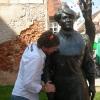 Tkalciceva Ulica, statua Marija Zagorka