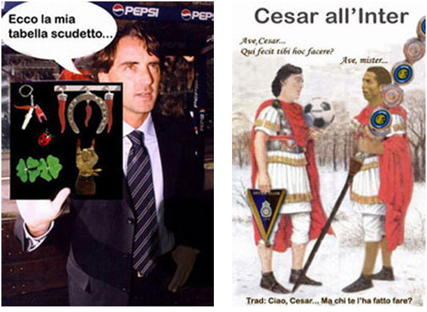 Mancio tabella e Mancio for Cesar (by Rob, gennaio 2005)